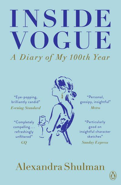 libro inside vogue my diary inside vogue my diary of vogue s 100th year by alexandra shulman penguin books australia