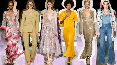 trends fashion trends summer 2018 the top 10 trends from new york fashion week spring 2018