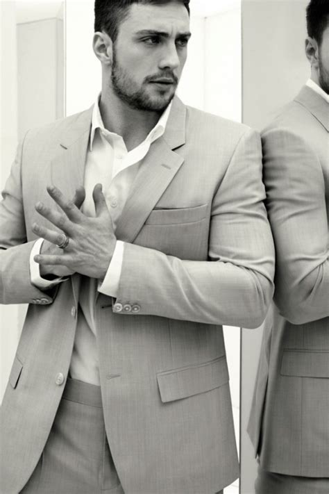 High Fashion Home 640x960 aaron taylor johnson light grey suit iphone 4
