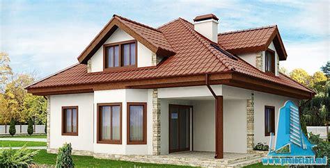 proiecte de casa proiect de casa cu mansarda si garaj 161 proiectari si