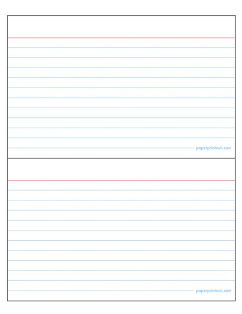 index cards template pages template index card template