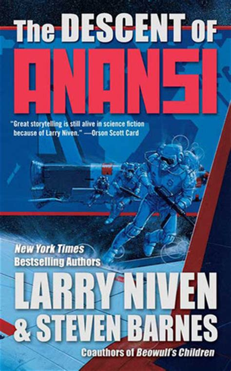 the descent of books the descent of anansi by larry niven reviews discussion
