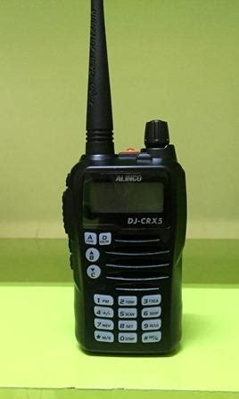 Radio Ht Handy Talky Alinco Dj Crx5 Dual Band alinco 187 187 jual alat radio komunikasi ht handy talky