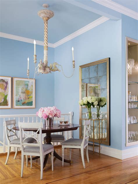 Light Blue Dining Room 5 Stunning Pastel Rooms Decorating With Pantone 2016 Color Trends Shoproomideas