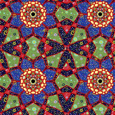 Kaleidoscope Patchwork - char patchwork flower kaleidoscope giftwrap