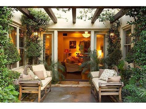 Small Home Atrium Ideas Patio Ideas Photo Gallery