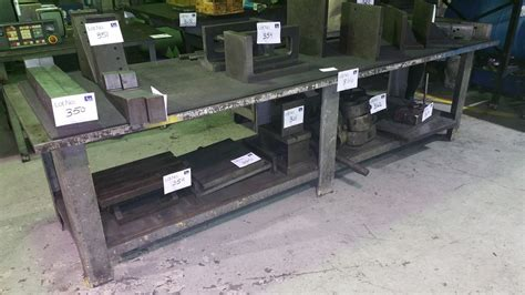 36x118 1 1 4 thick steel welding blacksmith die table