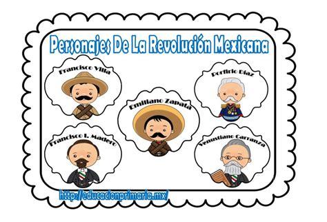 imagenes de la revolucion mexicana con nombres lindos dise 241 os de personajes de la revoluci 243 n mexicana