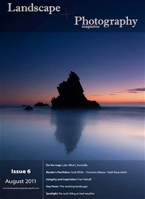 landscape photography magazine issue 6