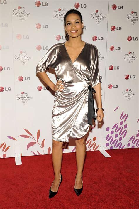 Longoria Parkers Fashion Statement by Rosario Dawson Photos Photos Beckham