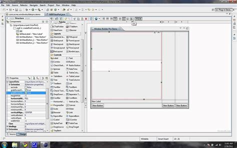swing java eclipse windowbuilderpro plugin hỗ trợ design java swing cho