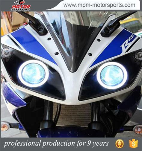 Lu Led Yamaha R15 Led Azul Diablo Demonio Hid Proyector Faro Para Yamaha R15