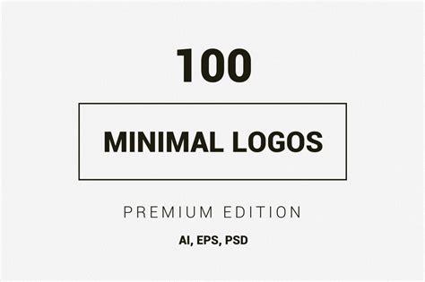 best minimal 100 minimal logos premium kit logo templates on