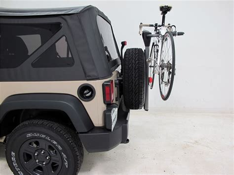 2006 jeep wrangler spare tire bike racks yakima