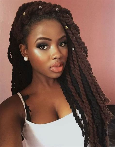Twist Hairstyles For Black Hair by 40 Chic Twist Hairstyles For Hair