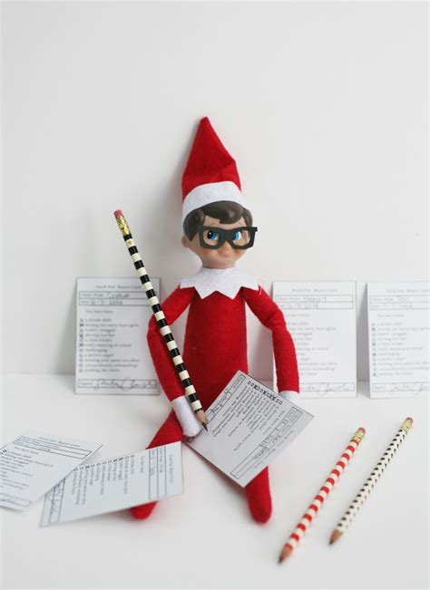 printable elf on the shelf glasses see jane blog there is life there is art and in