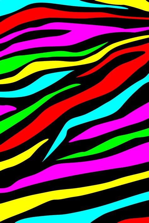 colorful zebra print 392 best animal print wallpaper images on