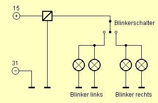 Motorrad Blinker Verkabelung by 6 Volt Blinker Schaltplan Technik F 252 R Klassische