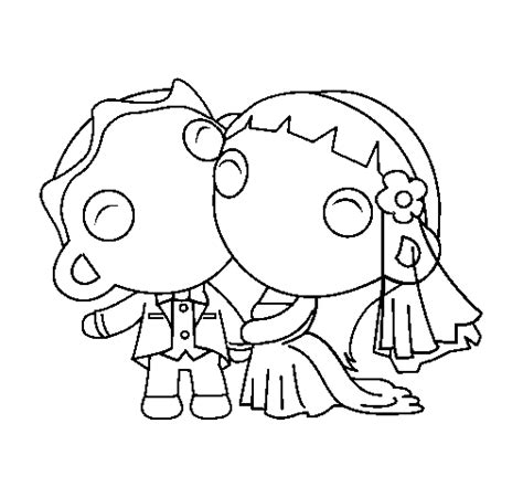 just married ii coloring page