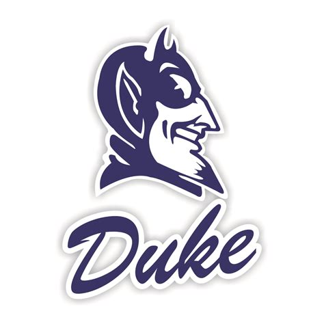 Duke Blue Devils Die Cut Decal