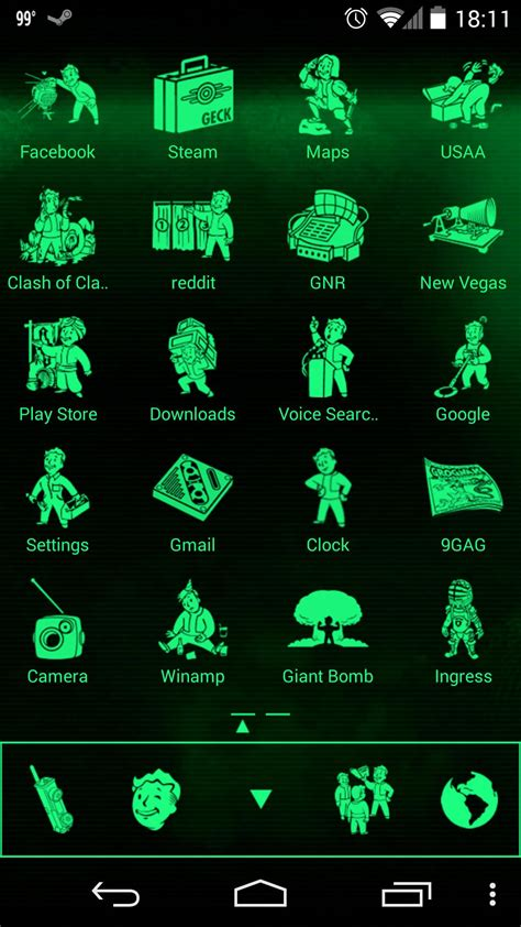 fallout themes for android pip boy theme android help android forums