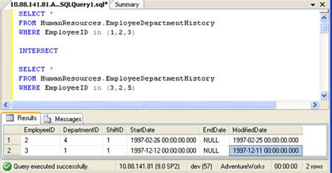 sql difference between two tables sql server difference between intersect and inner join