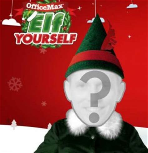 printable elf yourself elf yourself get a 10 30 office max coupon