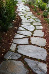 meandering flagstone garden path contemporary landscape san luis obispo by sage