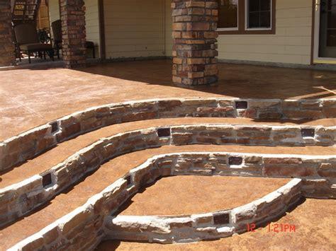 concrete patios denver concrete patios denver custom decorative concrete patio