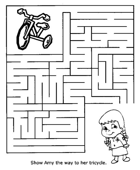 printable maze age 5 fit kids puzzles word search brain fitness kiana