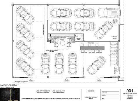 layout planning showroom eurobike porsche brazilia 1 1 arquitetura