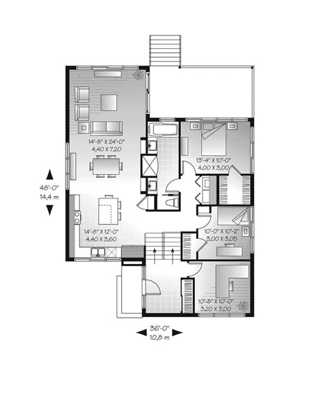 burmberry modern home plan 032d 0757 house plans and more