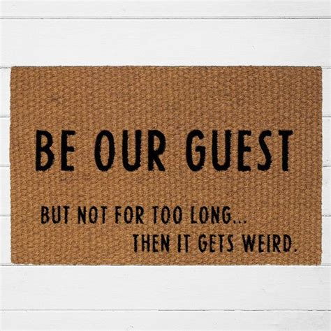 funny door mat 25 best ideas about funny doormats on pinterest funny