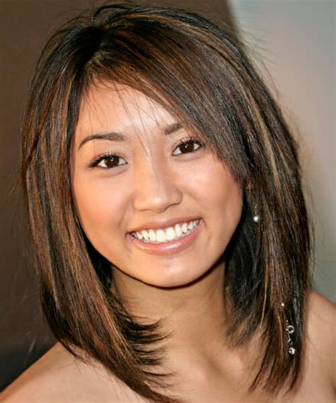 haircuts for round face pictures best hairstyles for a round face
