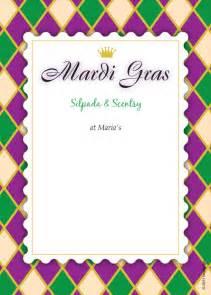 free mardi gras invitation templates mardi gras blank invitations templates