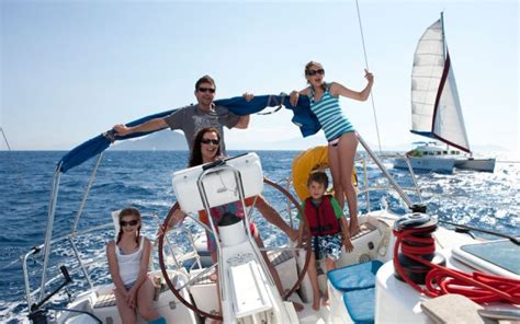 living on a boat nyc family learn to sail holidays one stop sailing holidays