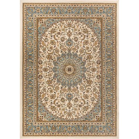 6 X 10 Area Rug Well Woven Timeless Aviva Ivory 7 Ft 10 In X 10 Ft 6 In Traditional Area Rug 36427 The