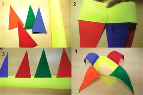 How To Make A Jester Hat Out Of Paper - how to make a jester hat out of paper 28 images how to