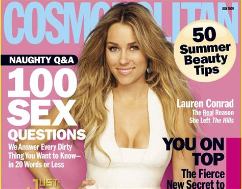 Conrad Lands The Cover Of Cosmo And Becomes The Spokesperson For Cosmetics by Better Posters Learning From Cosmo