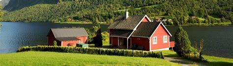 haus mieten norwegen ferienhaus norwegen urlaub am fjord mieten