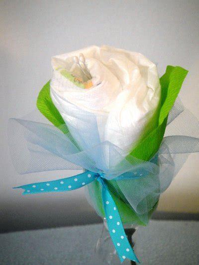 fiori per nascita di un bambino fiore di pannolini idea regalo per la nascita bambini