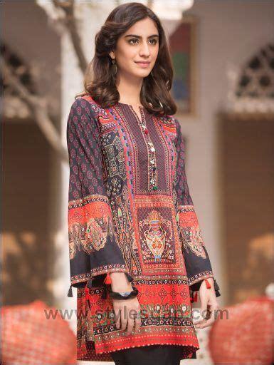 latest summer lawn kurta designs stitching styles