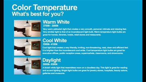 best color temperature for outdoor lighting kelvin color temperature in light bulbs