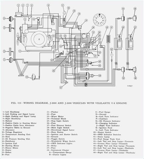 international voltage regulator wiring diagram wiring