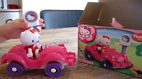 speelgoed uitpakken hello kitty speelgoed uitpakken met duplo auto youtube