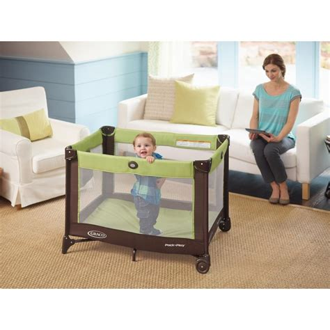 Play Baby Crib Bassinet Infant Graco Pack N Play On The Go Travel