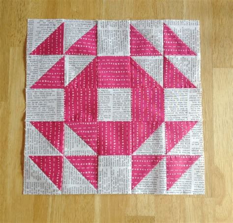 Single Wedding Ring Quilt Pattern Free by Single Wedding Ring Block The Sassy Quilter