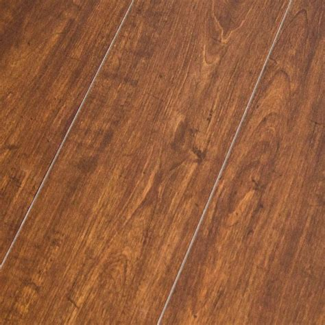 alloc original american cherry 10 8mm laminate floor w pad attached sample ebay