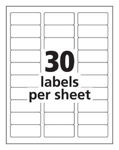word label template 8 per sheet search results for avery labels 30 per sheet template