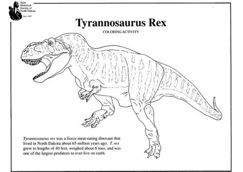 free coloring pages t rex free coloring pages of dinosaurio t rex